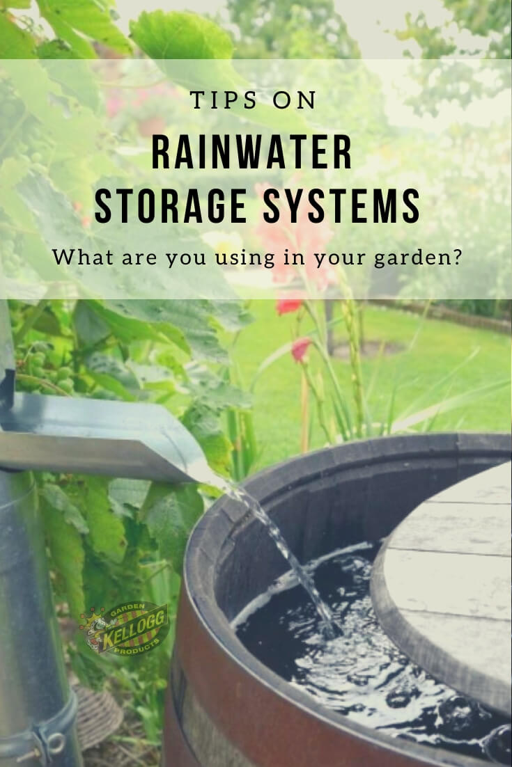 Rainwater storage systems