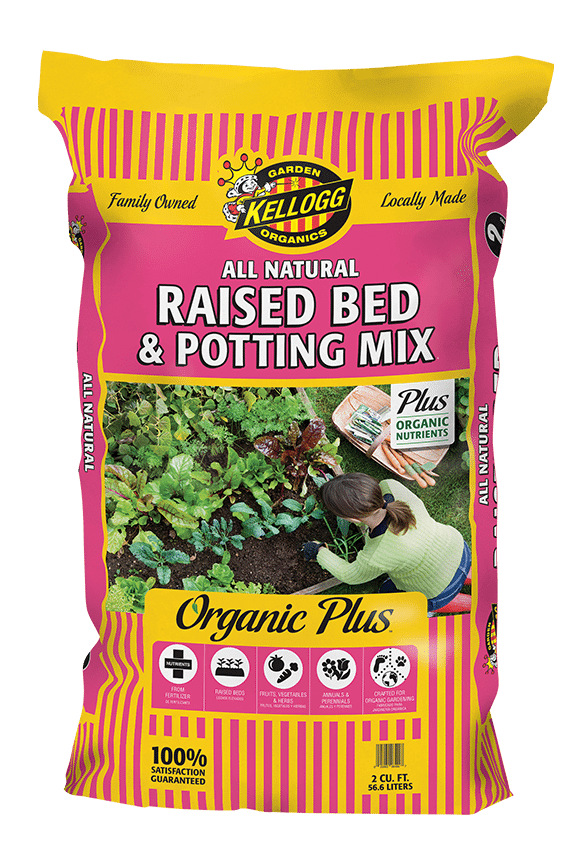 Kellogg Garden Organics All Natural Potting Mix