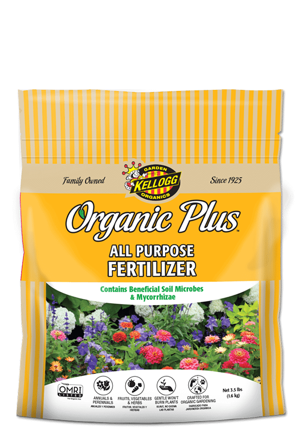 kellogg garden organics all purpose fertilizer - Organic Garden Fertilizer