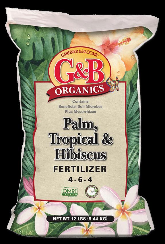 PALM, TROPICAL & HIBISCUS FERTILIZER | Kellogg Garden Products