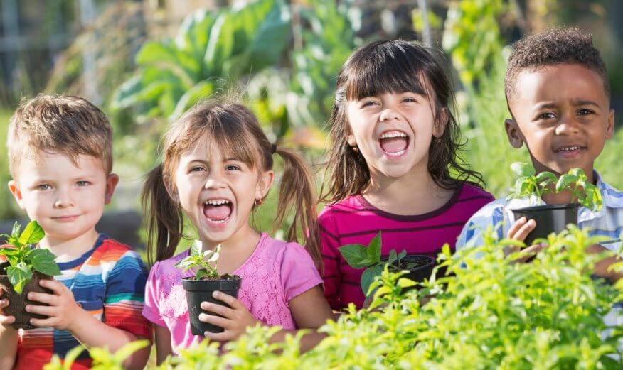 Organics builds life good for children