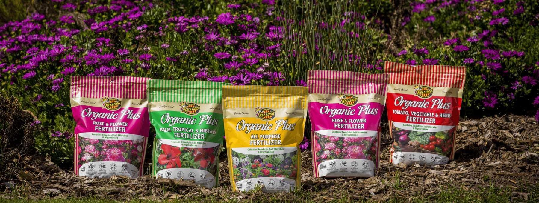 Kellogg organic fertilizer line
