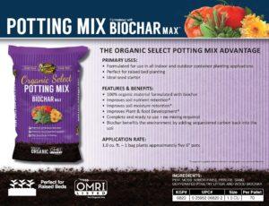 Organic Select Potting Mix Info