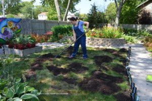 How to fix your lawn with soil