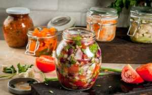 Salsa in a jar
