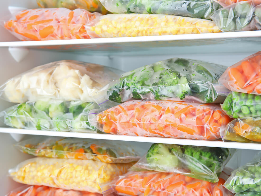 freezer veggies
