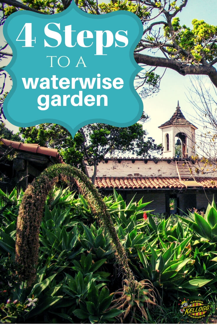 4 Steps to a water wise garden