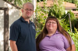 Joey and Holly Baird of The Wisconsin Vegetable Gardener
