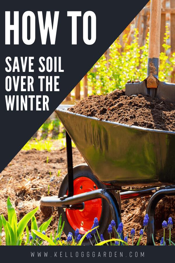 Saving potting soil