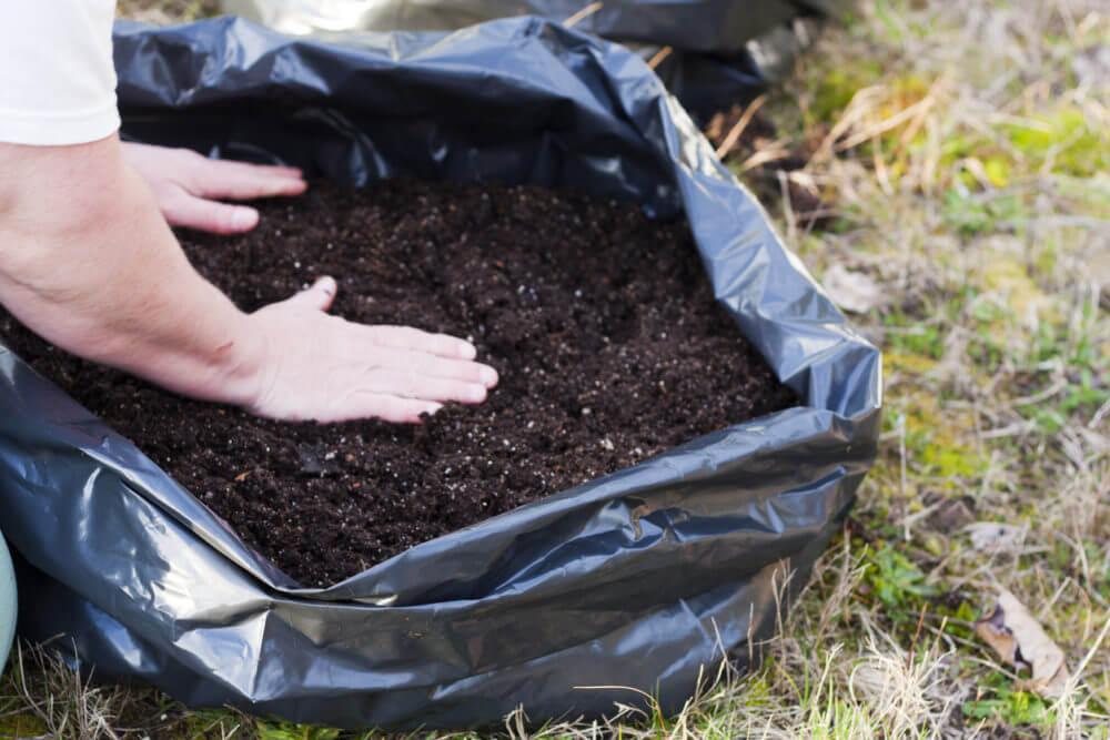 Potting Soil in Bag