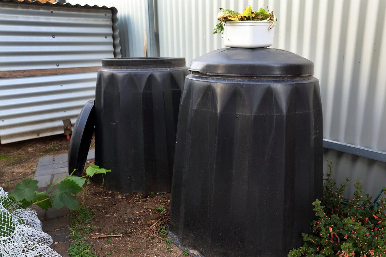 Soil Storage Bins