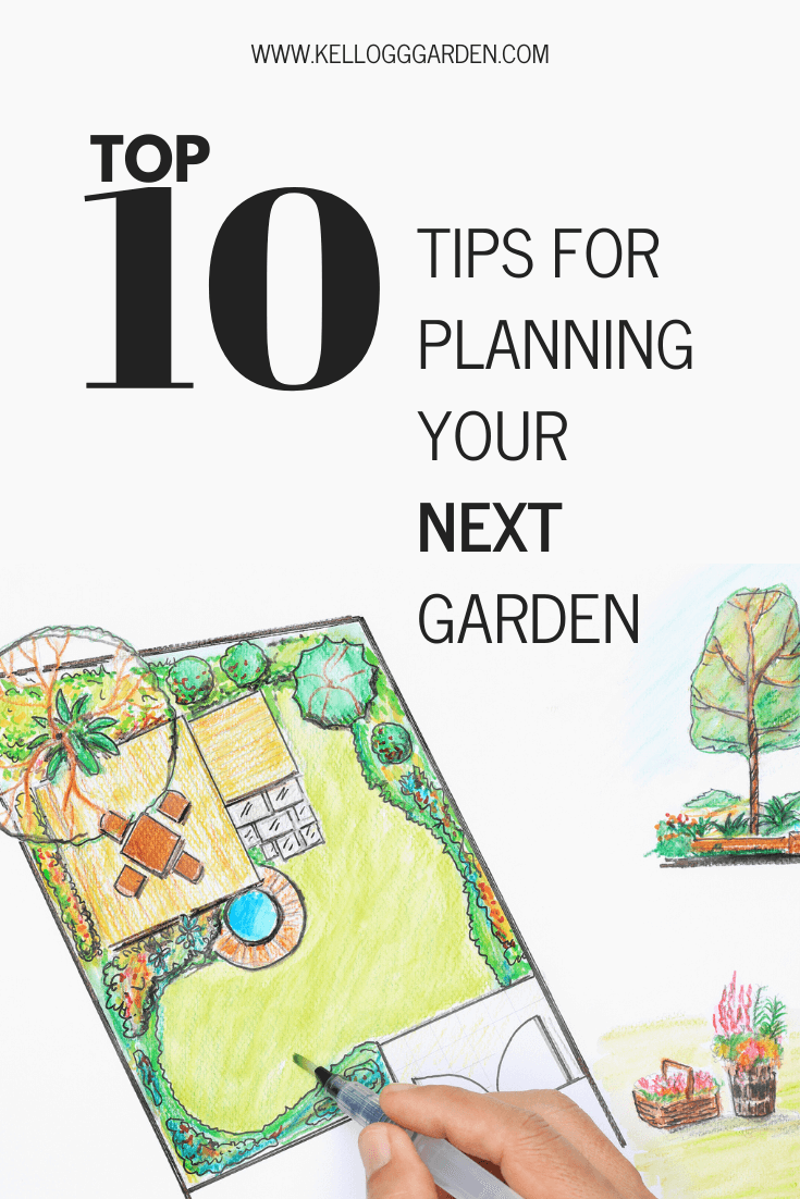 Tips for planning your next garden