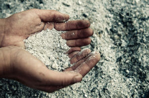 handfuls of ashes
