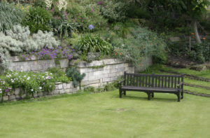 Garden Bench in the UK