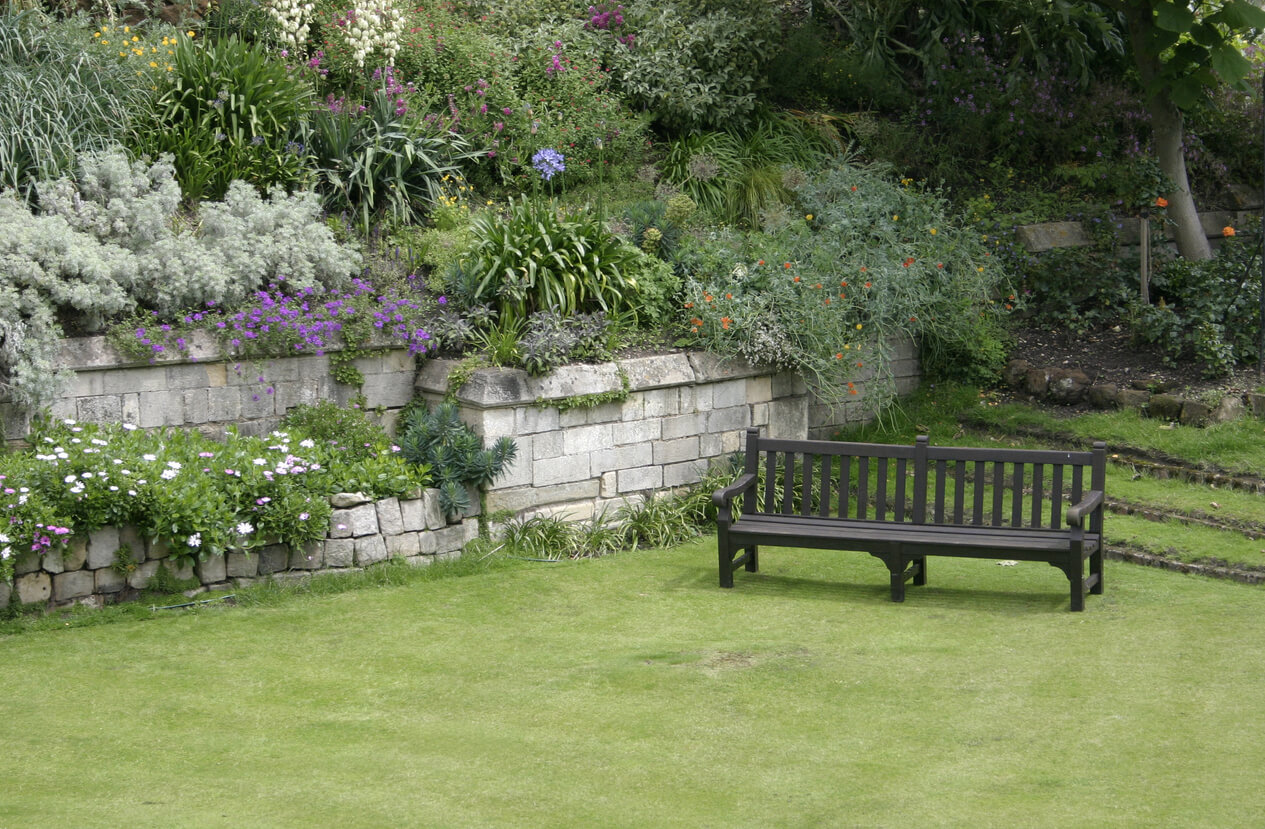 Garden Bench in the UK