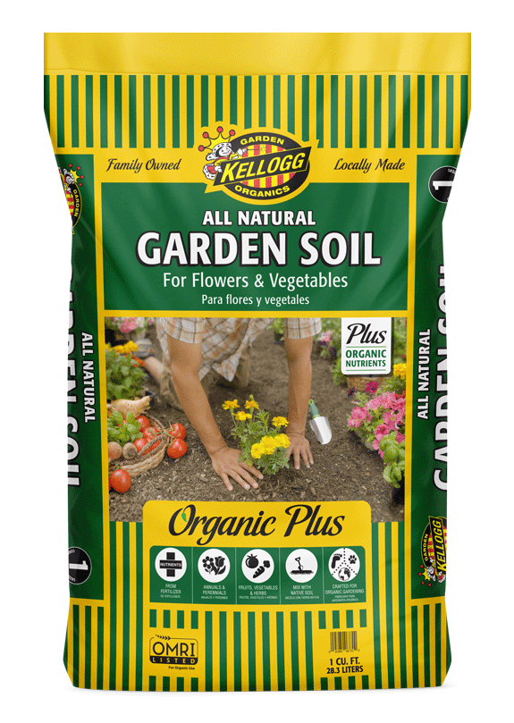 All Natural Garden Soil Organic Plus