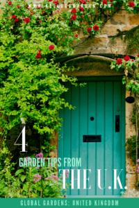 Global Gardens UK pin