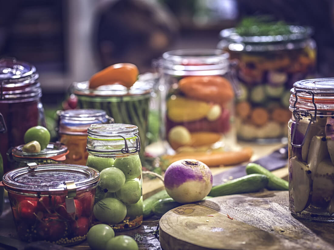 Preserving veggies