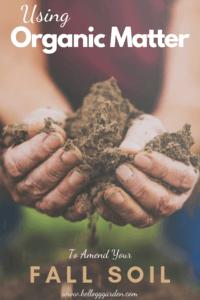 Organic Matter Fall Soil