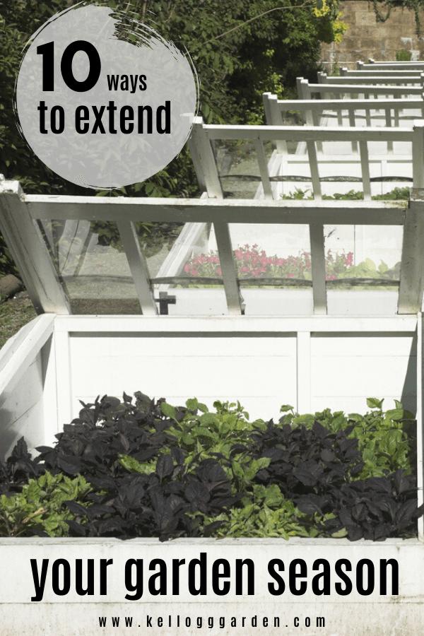 Extend your garden season