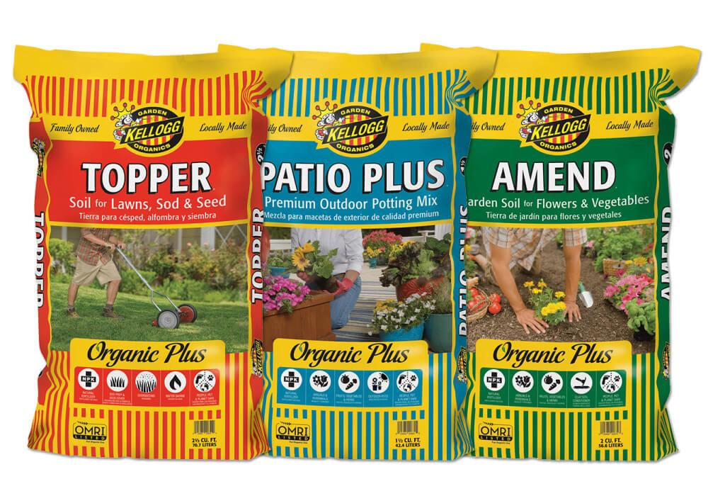Kellog Organics Garden Soils