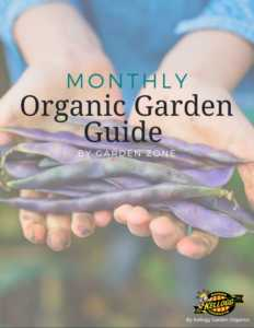 Monthly Organic Garden Guide book cover