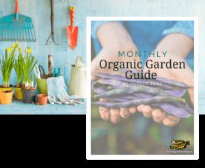 Organic monthly garden guide