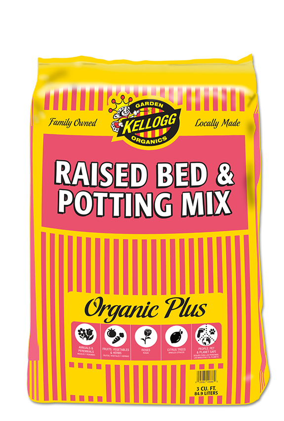 raised bed potting mix kellogg garden products
